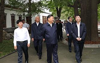 習近平視察北京香山革命紀念地