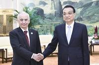 李克強會見阿塞拜疆副總理阿布塔利博夫