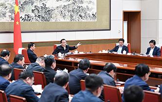 李克強主持召開國家能源委員會會議 韓正出席