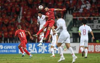 世預賽:中國隊不敵敘利亞隊