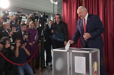 白俄羅斯舉行議會下院選舉