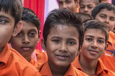 加爾各答慶祝世界兒童日