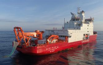 中國南極考察隊順利完成宇航員海綜合科考