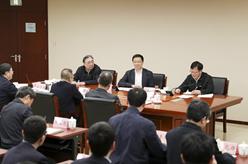 韓正在國家醫療保障局召開座談會