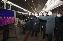 李克強赴北京西站考察有序錯峰返程和新冠肺炎疫情防控工作