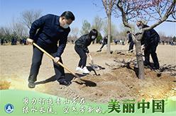 為人民種樹,為群眾造福