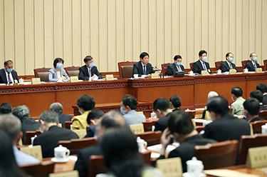 十三屆全國人大常委會第十八次會議在京閉幕 栗戰書主持並講話