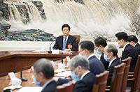 十三屆全國人大三次會議主席團常務主席第二次會議舉行 栗戰書主持