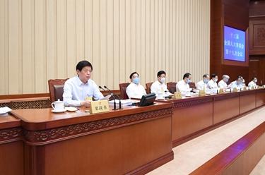 十三屆全國人大常委會第十九次會議在京舉行 栗戰書主持