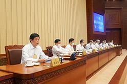 十三屆全國人大常委會第二十次會議在京舉行