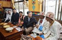 汪洋在西藏調研