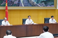 韓正出席第七次全國人口普查電視電話會議並講話