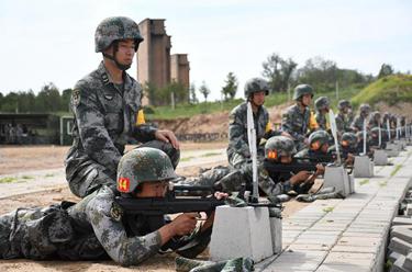 """陸軍""""四會""""教練員比武提升新兵訓練質效"""