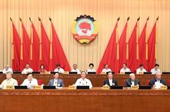 全國政協十三屆常委會第十三次會議舉行全體會議 汪洋出席