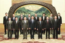 韓正會見澳門特別行政區紀律部隊高層代表團