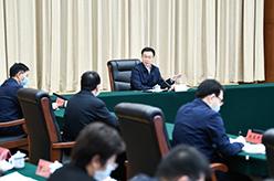 韓正在生態環境部召開座談會