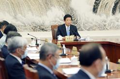 十三屆全國人大常委會舉行第七十三次委員長會議 栗戰書主持
