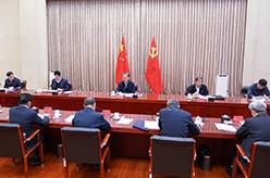 中央紀委常委會召開會議 深入學習貫徹黨的十九屆五中全會精神 趙樂際主持會議