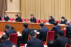 王滬寧出席學習貫徹黨的十九屆五中全會精神中央宣講團動員會並講話
