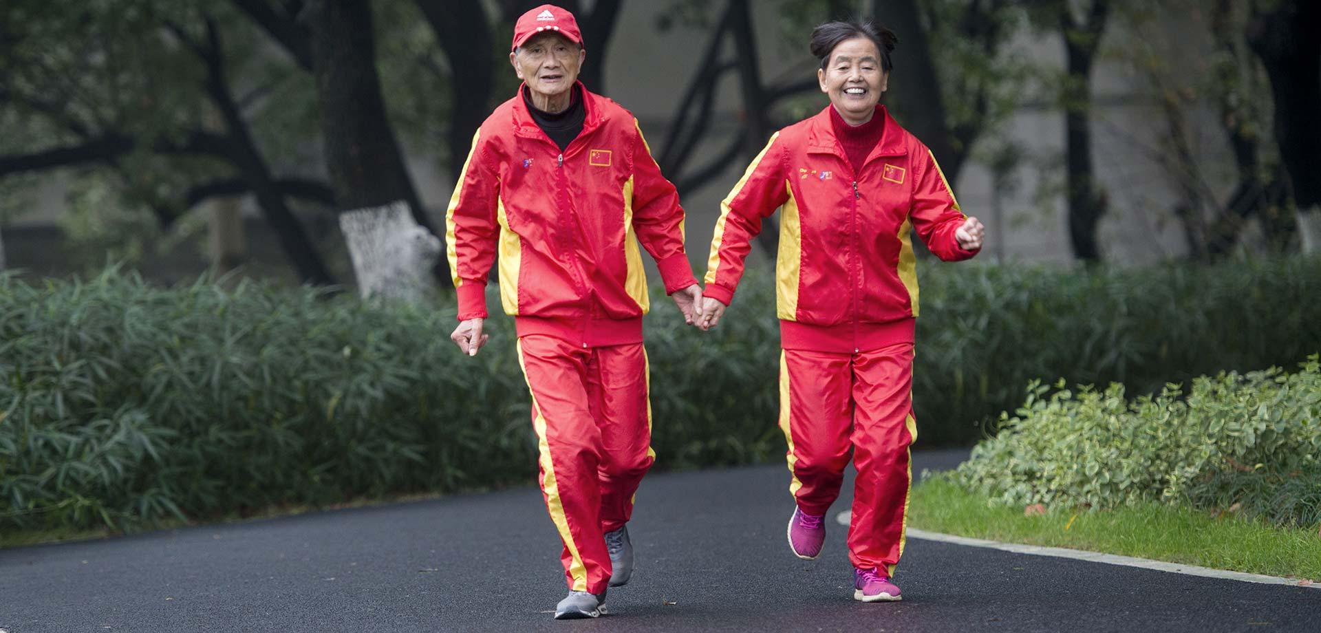 【顯影中國】一對馬拉松達人的53年愛情長跑
