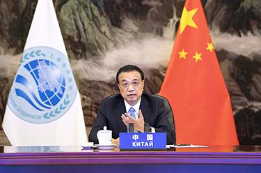 李克強出席上海合作組織成員國政府首腦(總理)理事會第十九次會議