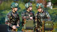 陽光裏,奮進的中國士兵——火箭軍某團班長俞細文學習踐行黨的創新理論記事