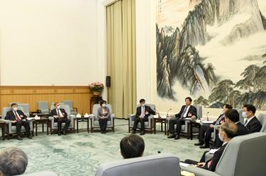 十三屆全國人大常委會舉行第八十七次委員長會議