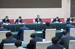 汪洋看望民進、九三學社界委員並參加討論