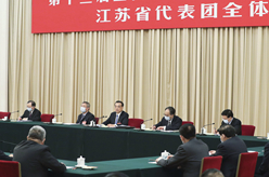 李克強參加江蘇代表團審議