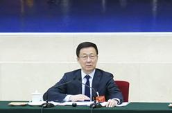 韓正參加澳門代表團審議