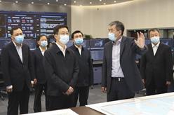 韓正調研國家空中交通管理工作