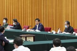 栗戰書出席鄉村振興促進法實施座談會並講話