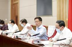 韓正主持召開中央生態環境保護督察工作領導小組會議