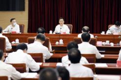 韓正在國家糧食和物資儲備局主持召開座談會