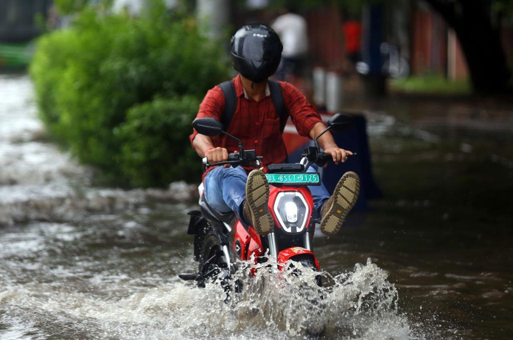 印度的季風雨季