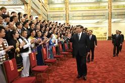 第六屆全國少數民族文藝會演開幕式文藝晚會在京舉行