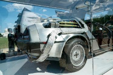 """""""時光機""""道具汽車在華盛頓展出"""