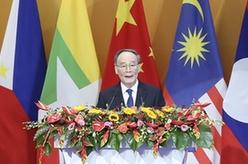 王岐山出席第十八屆中國-東盟博覽會開幕式
