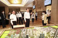 栗戰書率全國人大常委會執法檢查組在上海檢查固體廢物污染環境防治法實施情況