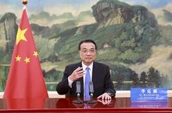 """李克強在2021""""中國希臘文化和旅遊年""""開幕式上發表致辭"""