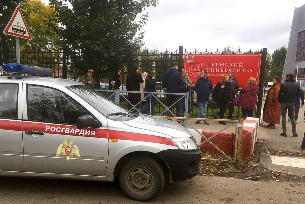 俄羅斯一所大學發生槍擊事件 至少8人死亡、19人受傷