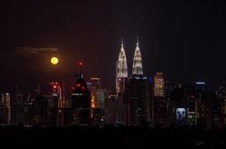 吉隆坡:中秋月圓