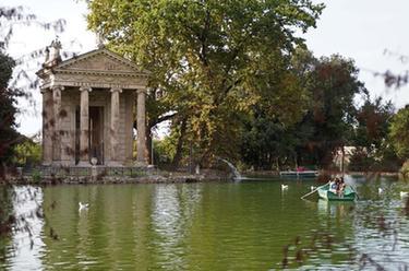 羅馬:公園泛舟