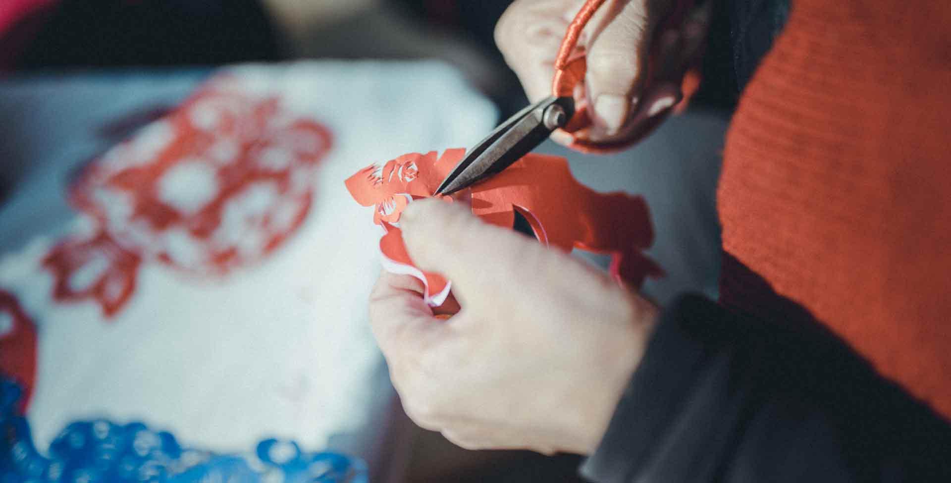 雪秀梅和她的慶陽剪紙