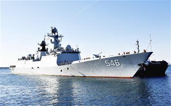 海軍第二十八批護航編隊技術停靠西班牙