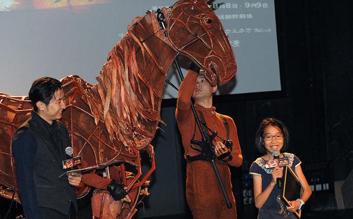 中文版舞臺劇《戰馬》暑期重返北京