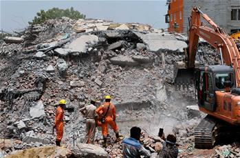 印度樓房倒塌事故死亡人數升至9人