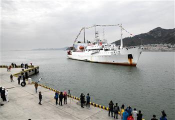中國大洋48航次凱旋