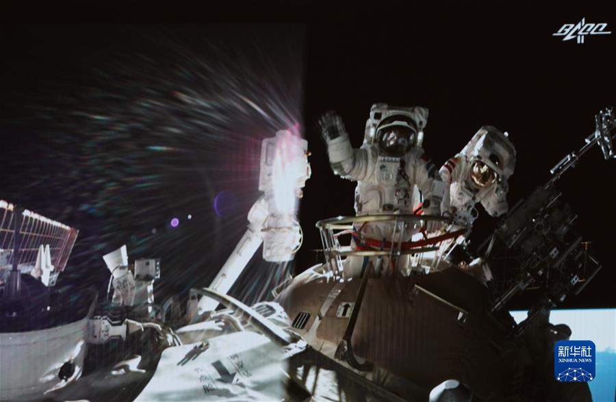 (奋斗百年路 启航新征程·中国共产党人的精神谱系·图文互动)(7)我们的征途是星辰大海——载人航天精神述评