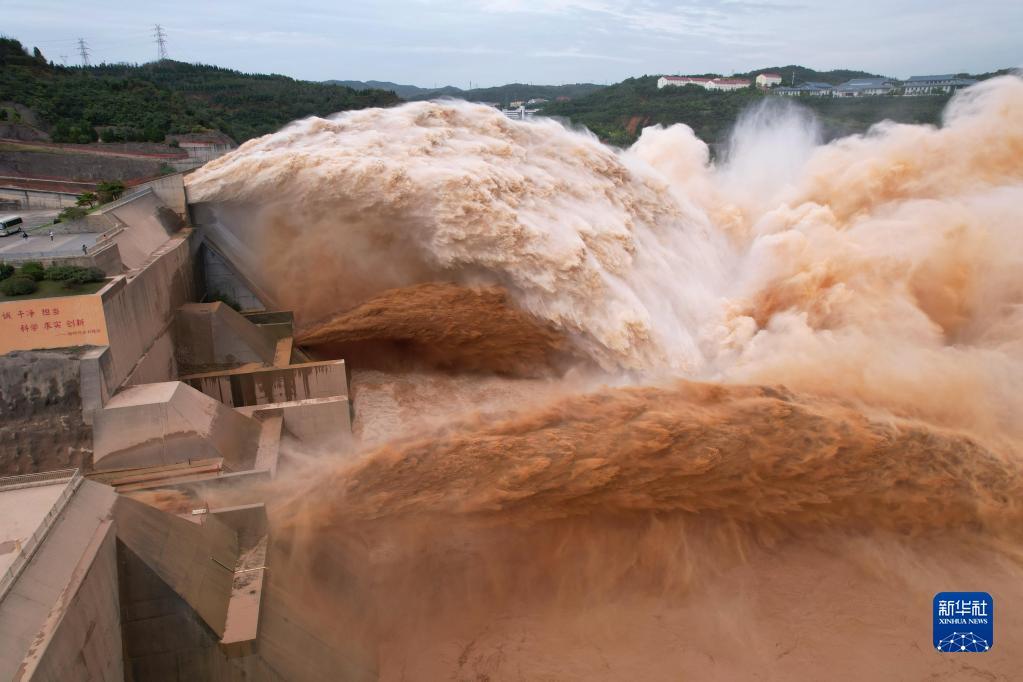 水位最高达273.5米 黄河小浪底水库秋汛防洪目击记